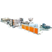 Plastic Sheet and Board Production Line