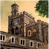 Architecture oil paintings-hand painted oil paintings
