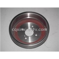 Automobile Rear Brake Drum Made by Grey Iron