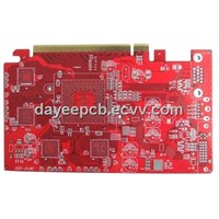 Dayee 8 Layer PCB for Hal Lead Free Finish