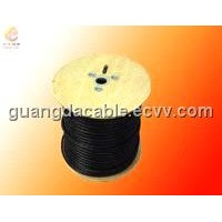 Coaxial Cable - 75 Degree PVC UL Red