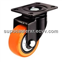 Polyyurethane Wheel with Central Bearing - Orange