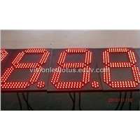 12 Inches Digital Clock with FCC