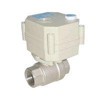 2 Way NSF61 Stainless Steel motorized water ball Valve