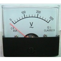 45A Voltage Analog Meter