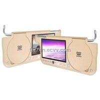 7-inch Sun Visor DVD Player with 16:9 Aspect Ratio, USB Port / DVB-T Receiver