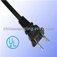 America Ul Approved AC Power Cord 2 Pin Plug