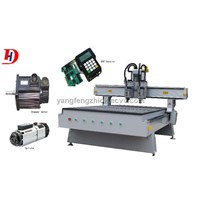 Auto-Tool Changing Woodworking Machine