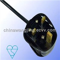 BS AC Power Cord 13A 3 Pin Plug