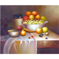 Discount Oil Paintings - Still Life Oil Paintings