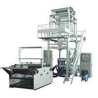 Double-Layer Common-Extruding Film Blowing Machine