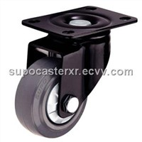 Elastic Rubber Wheel with Central Bearing