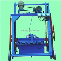 Electric Three Hollow Block Machine