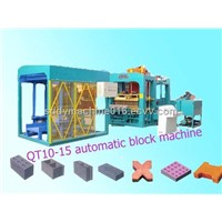 Full Automatic Brick Making Machine / Brick Machine (QT10-15)