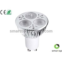 LED Spotlight with 3/6/9W Cree LED (GU10)