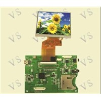 Driver Board with SD Card (LQ035NC111)