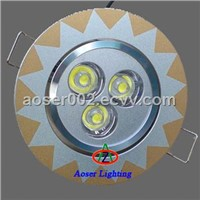 Led Ceiling Lights 3*1W
