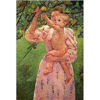 Mary Cassatt Oil Paintings -Oil Painting