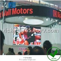 Double-Faced Dual Color LED Display (P16)