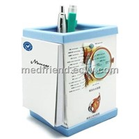 Pen Holder with 3D Medical Chart