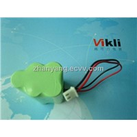 Rechargeable Battery Pack - NI-MH AAA500MAH 6V