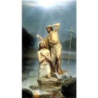 Religion oil painting reproducted for wholesale