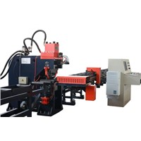 Semi Automatic CNC Punching and Marking Machine for Angles
