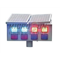 Solar Double-Sides Flash Warning Light (MS-ST-FW0802)