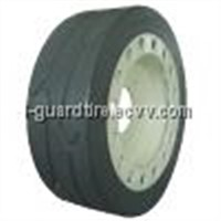 Solid Tire - With Brake Plate