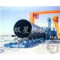 Steel Pipe Grit Blasting Machine