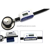 Stethoscope Clock with Doctor Name Tag