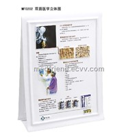 Two-Sided 3D Medical Anatomical PVC Chart
