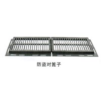 Anti-Stealing Gully Grates