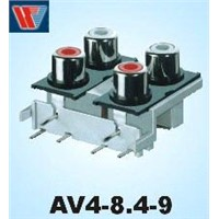 Audio Video Socket (AV4-8.4-9)