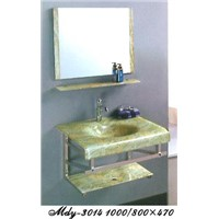 European Glass Bathroom Cabinet