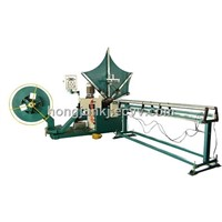 spiral tube forming machine