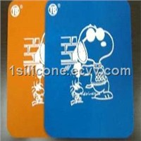 Carton Pringting Silicone Mouse Mat