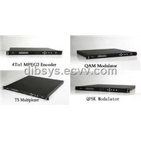 4 in 1 MPEG2 DVB Digital Encoder (ENC3040)