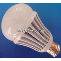 7W LED Bulbs with Low Power Consumption, Made of Aircraft Aluminum Die-casting Cover with Cream