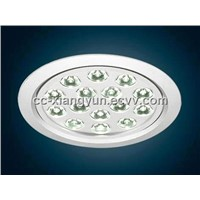 LED round aluminum ceiling lighting D7015