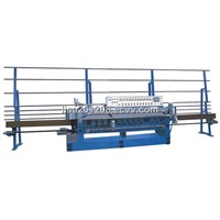 PLC control glass beveling machine