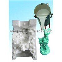 Silicone Rubber for Gypsum Crafts Molding