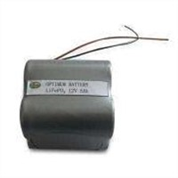 12V 5Ah LED Lithium Battery for Solar Lights, with Suitable Chargers and Constant Current Ratio