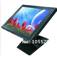 15 inch lcd touch monitor with strengthen pedestal