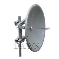 2400 to 2483MHz 21dBi WLAN Wi-Fi Parabolic Dish Antenna with Dual-polarization