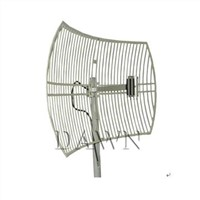 2400 to 2483MHz 24dBi WLAN Wi-Fi Directional Die Cast Grid Antenna with Dual-polarization
