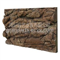 3D PU Decorated Aquarium Background Board