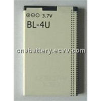 3.7v 1200mah BL-4U hand phone battery
