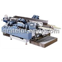 55mm Small-Glass-Sheet Double Edge Grinding Machine With High Precision and High Polishing