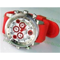 60fps 720P digital waterproof spy camera watch Camera DVR